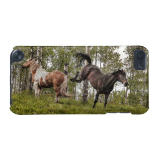 Friendly Buck Between Two Horses iPod Touch 5G Cases