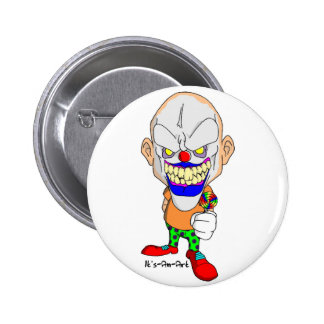 Friendly Clown Button
