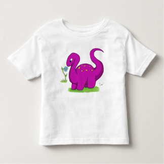 Friendly Dino (Kids) Toddler T-Shirt