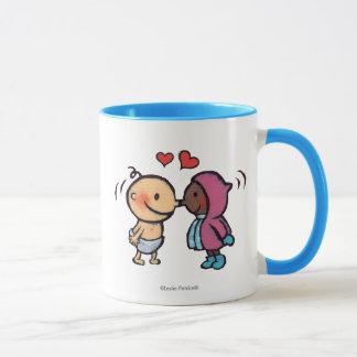 Friendly Eskimo Nose Kisses Kids Mug