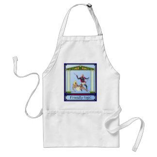 Friendly fight standard apron
