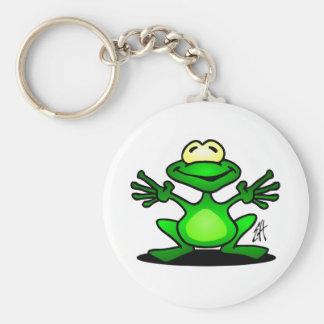 Friendly Frog Key Ring