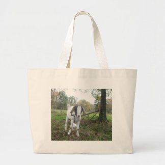 Friendly Goat Large Tote Bag