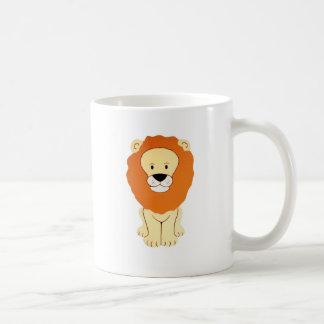 Friendly Golden Lion Coffee Mug