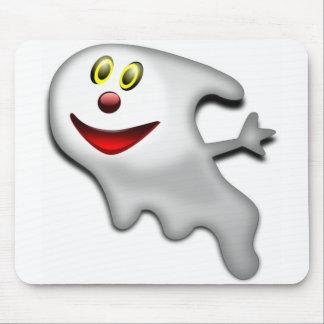 Friendly Happy Ghost Mousepad