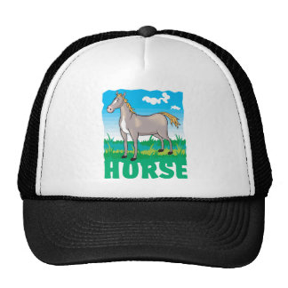Friendly Horse Cap