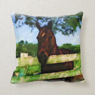 Friendly Horse Throw Cushions