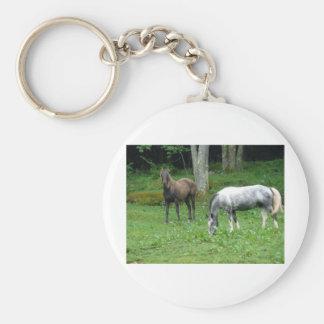 FRIENDLY HORSES KEYCHAINS