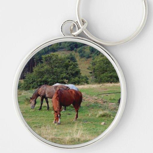FRIENDLY HORSES KEYCHAIN