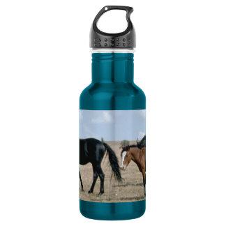 FRIENDLY HORSES 18OZ WATER BOTTLE