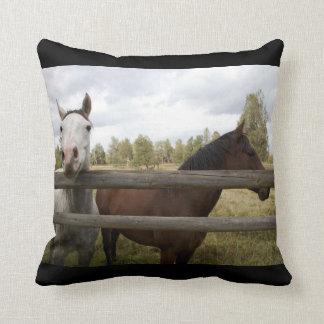 FRIENDLY HORSES THROW CUSHIONS