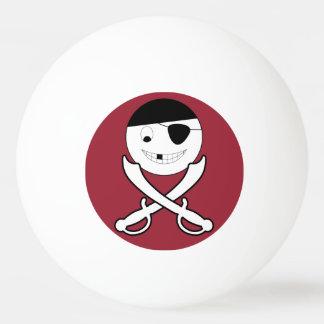 Friendly Jolly Roger Ping Pong Ball