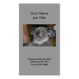 Friendly Koala Business Cards