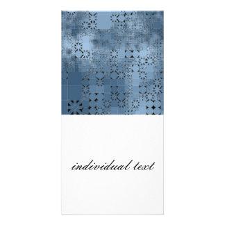friendly mix blue photo cards