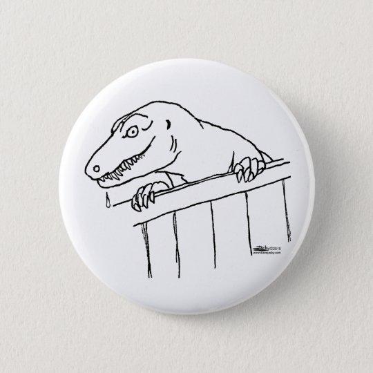 Friendly Neighbourhood Dinosaur 6 Cm Round Badge