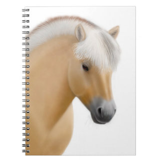 Friendly Norwegian Fjord Horse Notebook