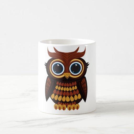 Friendly Owl Coffee Mugs