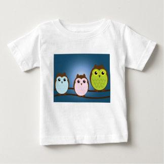 Friendly Owls - Baby Fine Jersey T-Shirt