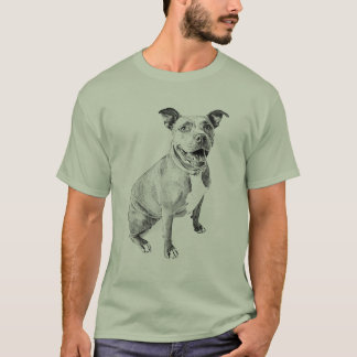 Friendly Pitbull T-Shirt