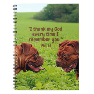 Friendly Pugs - Thinking of You Notebook/Journal Notebook