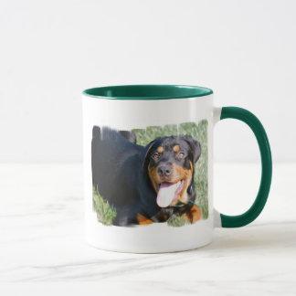 Friendly Rottweiler Coffee Mug