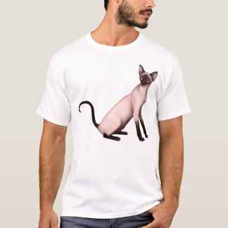 Friendly Siamese Cat Shirt