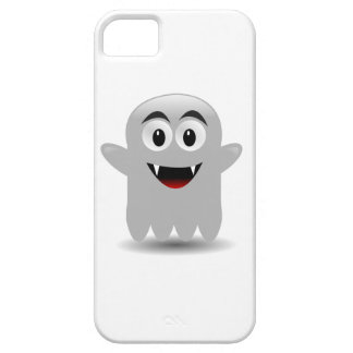 Friendly Smiling Cartoon Ghost iPhone 5 Covers