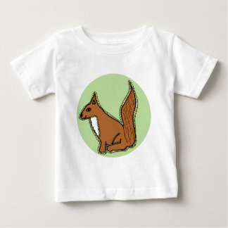 Friendly Squirrel Baby T-Shirt