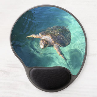Friendly Turtle in Mexico Gel Mouse Mat