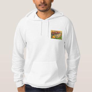 Friendly village sweat wear hoodie