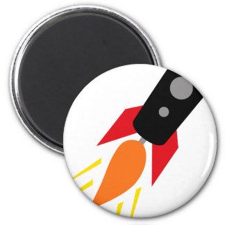 FriendlyAliensA5 6 Cm Round Magnet