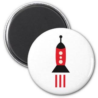 FriendlyAliensB5 6 Cm Round Magnet
