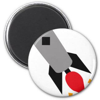 FriendlyAliensB8 6 Cm Round Magnet