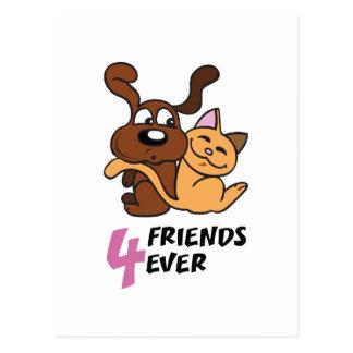 FRIENDS 4 LIFE POSTCARD