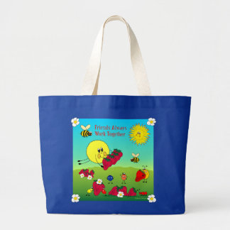 Friends Always Work Together Tote Bag