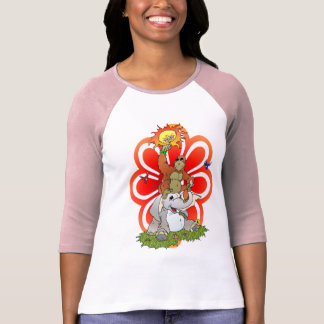 Friends and Flowers Tshirt