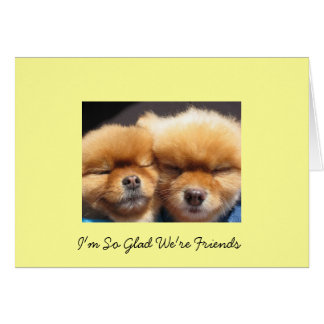 Friends and Friendship Card