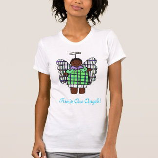 Friends Are Angels! (African American) Tees