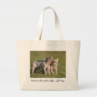 Friends are the Sunshine of Life Large Tote Bag