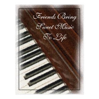 Friends Bring Music Postcard