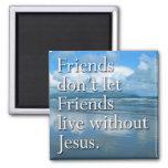 """Friends"" by Cheryl Daniels (sky) Refrigerator Magnet"