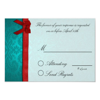 Friends Collection Reply Card 9 Cm X 13 Cm Invitation Card