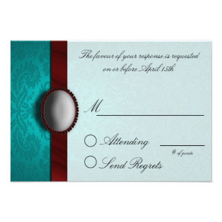 Friends Collection Reply Card Personalized Invite