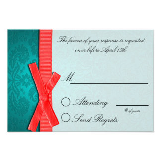 Friends Collection Reply Card Personalized Invitations