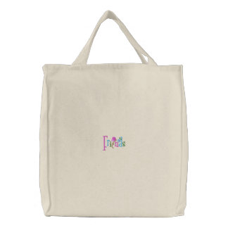 Friends Embroidered Bags