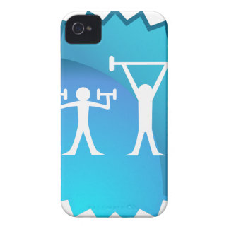 Friends Exercising Together iPhone 4 Covers