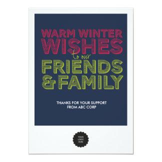 Friends & Family Flat Card
