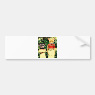friends Forever Bumper Sticker