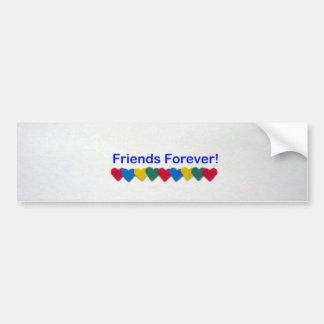 Friends Forever Bumper Sticker