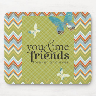 Friends Forever Mouse Mat